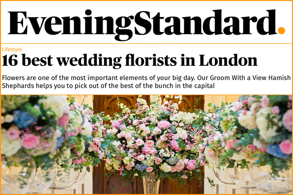 ES's Top London Wedding Florists - including us!